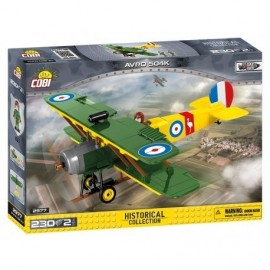 COBI Great War AVRO 504 D7600, 230 k, 2 f