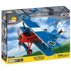 COBI Great War Fokker D. VII, 219 k, 1f