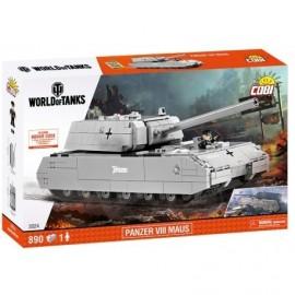 COBI WOT SdKfz 205 Panzerkampfwagen VIII MAUS, 890 k, 1 f