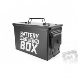Kovový kufr pro baterie