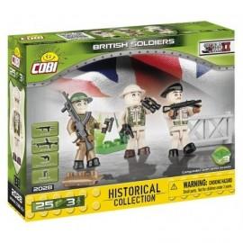 COBI 3 figurky s doplňky Britská armáda, 25 k