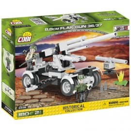 COBI II WW Cannon Flak 36/37, 180 HP, 2 f