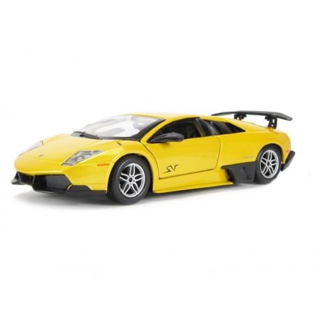 Bburago Plus Lamborghini Murcielago Lp 670 4 Sv 1 24 Yellow