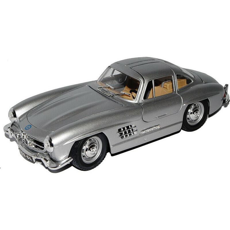 22023 Bburago 1:24 Mercedes Benz 300 SL 1954 silber