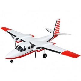 E-flite Aero Commander 0.7m AS3X BNF Basic