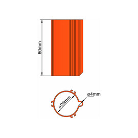 Climate Base 26mm 3-stabilizers orange
