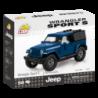 COBI Jeep Wrangler Sport S 1:35, modrý, 98 k