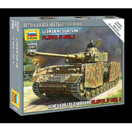 Model Kit tank 6240 - Panzer IV Ausf.H (1:100)
