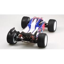 LC-Racing 1/14 Brushless Truggy RTR, střídavý regulátor 60A, clear body