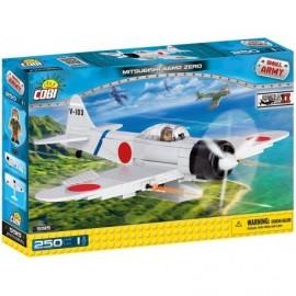 "COBI II WW Mitsubishi A6M2 ""Zero-Sen"" 250k, 1f"