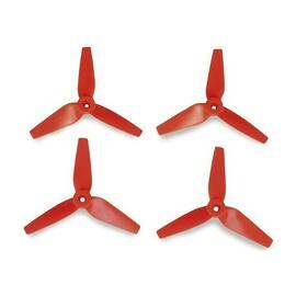 3D prop, třílisté 5x3,5 vrtule, 4ks. - červené