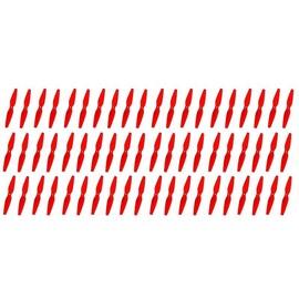 Graupner 3D Prop 6x3 pevná vrtule (60ks.) - červené