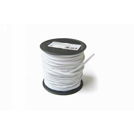 Startovací guma, kulatá, 3mm, bílá