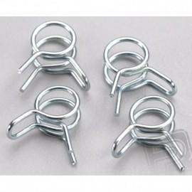 Spring fuel clip. Small hose (2mm)