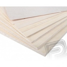 Plywood 1.0mm 31x61cm air PELIKAN