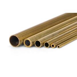 Mosazná trubička, tvrdá 3,0/2,2 mm