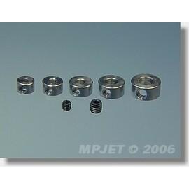 2804 Pierścień nastawny mosiądz 4 mm 4 szt