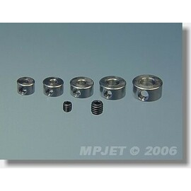 2801 Stavěcí kroužek mosaz 2,5 mm 4 ks