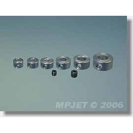 2807 Pierścień regulacyjny Duraluminium 2 mm 4 szt
