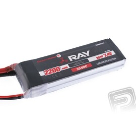 G4 RAY Li-Po 2200mAh / 7.4 30 / 60C Air pack