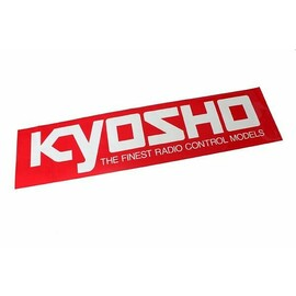 KYOSHO SQUARE LOGO STICKER (S) W106xH35