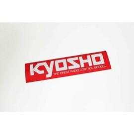 KYOSHO SQUARE LOGO STICKER (M) W290xH72