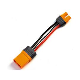 Spektrum konverzný kábel IC5 prístroj - IC3 batérie 10cm 10 AWG