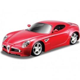 Bburago Alfa 8C Competizione 1:32 metallic red