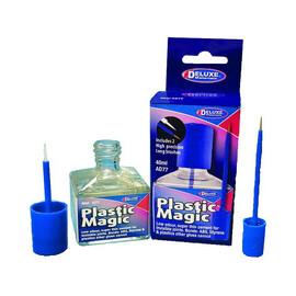 Plastic Magic bezbarvé lepidlo na plasty 40ml