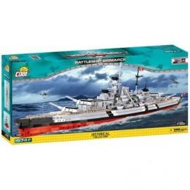COBI II WW Bitevník Bismarck, 1:300, 1974 k