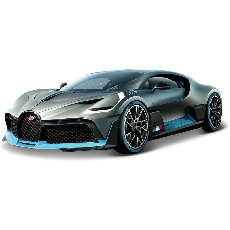 Bburago Bugatti Divo 1:18 stříbrná - Profimodel.cz