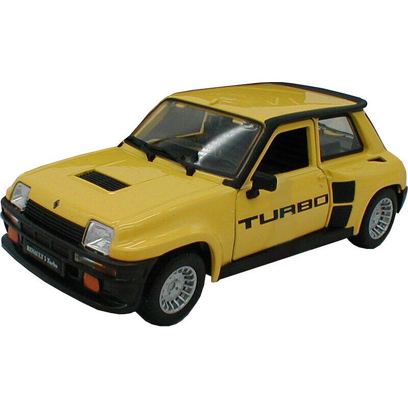 21088Y Bburago 1:24 Renault 5 Turbo Gelb