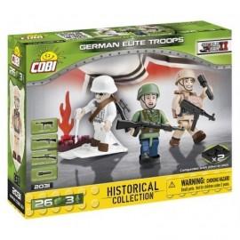 COBI 3 figurky s doplňky Německé elitní jednotky, 26 k