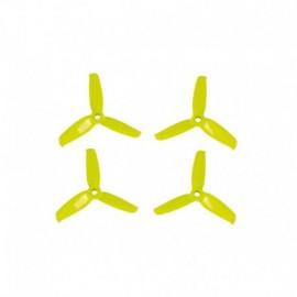 Vrtule Gemfan Flash 3052 3-list žluté, 4 ks.