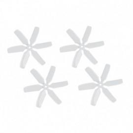 Vrtule 4046 6-listá, bílá, 1 sada - CW