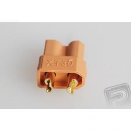 XT30 konektor, samice, 10 ks.