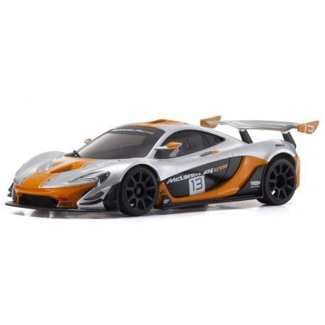 Mini-Z RWD McLaren P1 GTR Silver-Orange (W-MM/KT531P)