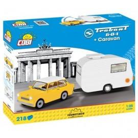 COBI TRABANT 601 with caravan, 218 hp