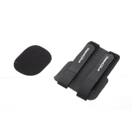 Double tightening Velcro for batteries, rx and tanks (black)