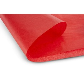 Coated paper scarlet red 508x762mm