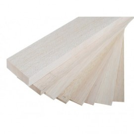 100x8cm Balsa 2 mm LIGHT to 120g