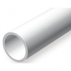 Plastic tube dia.2.4x1.0x610 mm 9pcs.
