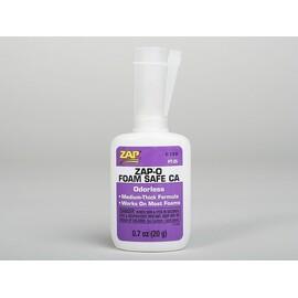 ZAP-O-Foam 20g (0,7oz) střední vteř. lepidlo STYRO