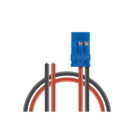 Napájecí Rx kabel 200mm, JR 0,50qmm silikonkabel, 1 ks.