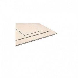 Birch plywood 4,0x400x400mm