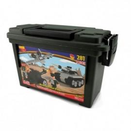 Best Lock Europe Ltd. 281 ks kostek Set Tank, Plane or Gun