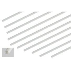 ABS čtyřhranný profil 2x2x1000mm, 10ks.