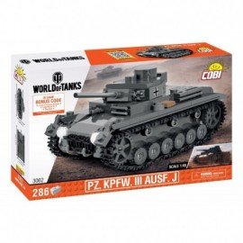 COBI WOT Pz. Kpfw. III Ausf. J, 1:48, 286 k