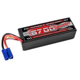 Sport Racing 50C - 6700mAh - 3S - 11,1V - EC-5 - Hardcase