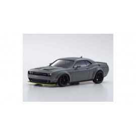 Autoscale Mini-Z Dodge Challenger SRT Hellcat Redeye Gray (MA020)
